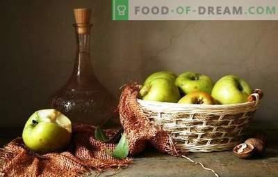 Sezon jabłkowy - robimy bukiet wina z jabłek bez tłoczenia. Technologia wina domowej roboty z jabłek bez soku - zalety i wady wytwarzania wina z zacieru jabłkowego