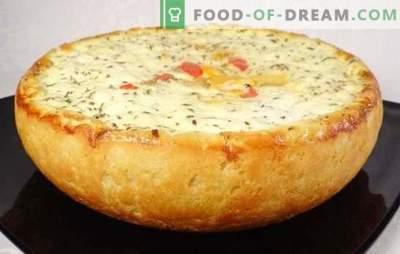 Pastel de papa en una olla de cocción lenta: champiñones, vegetales, carne, pollo, queso, magra. Las mejores recetas para el pastel de papa en una olla de cocción lenta