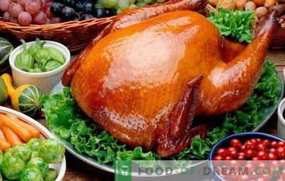 Pollo al horno - las mejores recetas. Cómo cocinar pollo al horno.