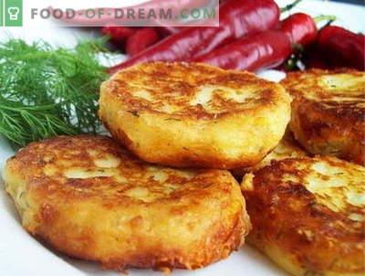 Las empanadas de papa son las mejores recetas. Cómo cocinar las empanadas de patata.