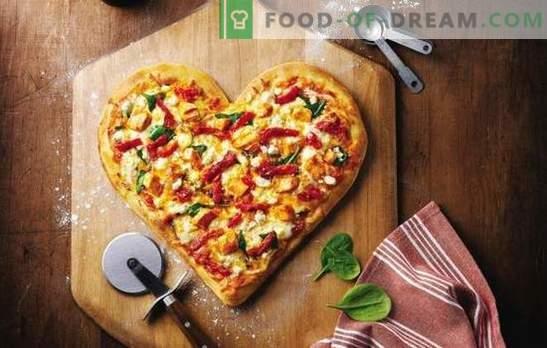 La pizza de mayonesa es un plato favorito sin problemas. Una selección de recetas para la masa de pizza en mayonesa