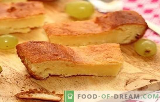 Pastel con leche agria - todo ingenioso es simple. Recetas de pastel con leche agria en el horno y multi-cocina