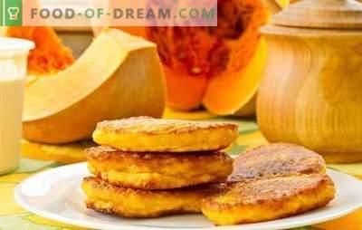 Platos de calabaza de Cuaresma - una variedad saludable. Recetas para platos de lentejas de calabaza: cereales, sopas, tartas, manti, tortitas, ensaladas