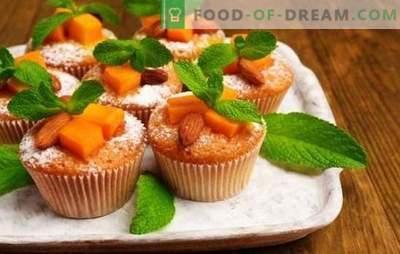 Muffins de calabaza - pasteles soleados! Recetas para magdalenas de calabaza dietéticas, clásicas y de postre