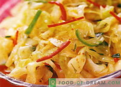 Repollo en coreano - las mejores recetas. Cómo cocinar correctamente y sabroso repollo en coreano.