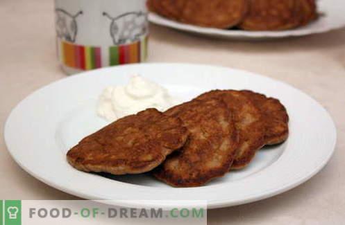Buñuelos de hígado son las mejores recetas. Cómo preparar adecuadamente y sabrosos los panqueques de hígado.