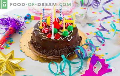 ¡Preparamos el pastel en casa para nuestro cumpleaños (foto)! Recetas para varios pasteles de cumpleaños caseros con fotos