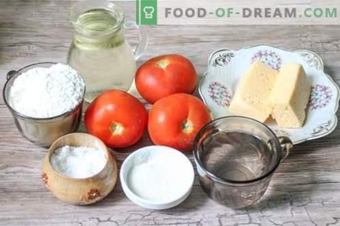 Bombas de empanadas con tomate y queso: ¡operativas y económicas!