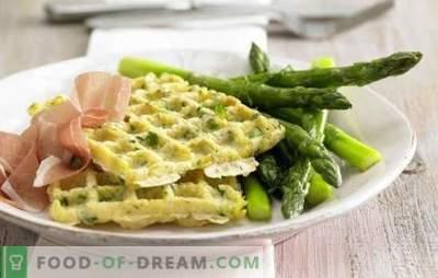 I waffle di patate sono un eccellente contorno! Ricette di waffle con cipolle e aglio, formaggio, pollo, salmone, uova in camicia