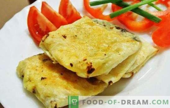 Lazy khachapuri - ¡todos festejan! Agrega khachapuri perezoso a la alcancía de tus recetas favoritas
