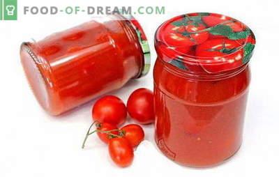 Tomates en pasta de tomate: recetas interesantes para una preparación interesante. Cómo cocinar deliciosos tomates en pasta de tomate