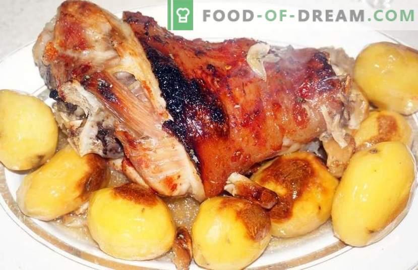 Piatti principali sul tavolo festivo - nove deliziose ricette per la vacanza