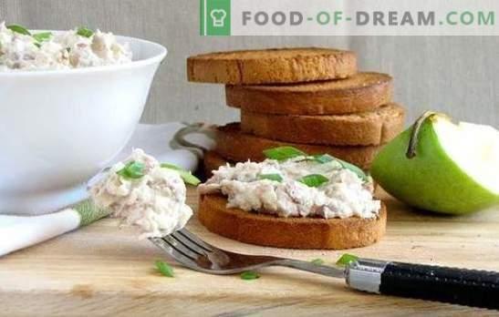 Forshmak de arenque: recetas clásicas para bocadillos aromáticos. Cocinando forshmak de arenque según recetas clásicas con manzanas, huevos, cebollas