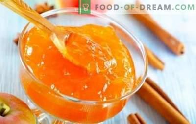 Mermelada de manzana con naranja: sabor antiguo, sabor nuevo. Recetas de mermelada de manzana con naranjas para el invierno y al igual que