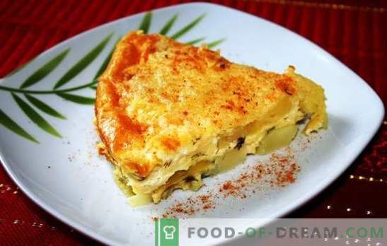 Cazuela de patatas con queso - un plato para todos los días. Recetas de cazuela de patatas con queso: con carne, pollo, mayonesa
