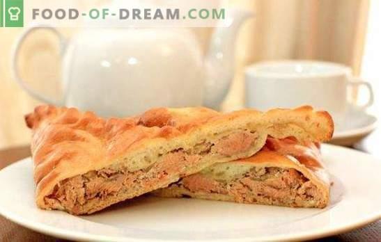 Pastel con salmón rosado: nutritivo, fragante, muy sabroso. Recetas para pastel casero con salmón rosado: levadura, hojaldre, relleno
