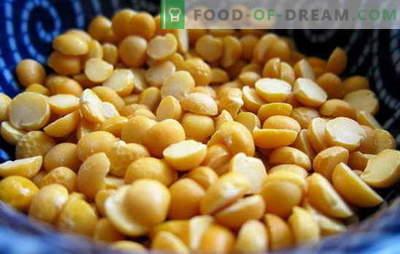 ¿Cómo cocinar guisantes: amarillo, verde, marrón? Diferentes formas de cocinar guisantes secos, frescos y congelados: recetas simples y complejas