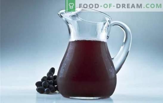 Isabella viinamarja kompott talveks - ainulaadse aroomiga jook. Parimad retseptid komposti alates viinamarjadest Isabella talveks