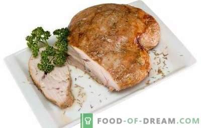 Putenbrust - kalorienarmes und nahrhaftes Fleisch. Die besten Rezepte aus der Putenbrust: eingelegt, Folie, Suppe, Salat, Braten, Eintopf