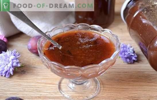 Mermelada de ciruela: ¡la más fácil y deliciosa! Receta fotográfica paso a paso para hacer mermelada de húngaro