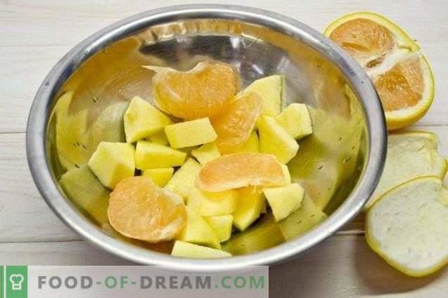 Batido de arándanos y frutas - Cóctel de vitaminas