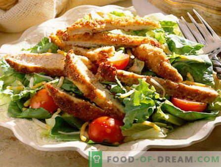 Ensalada masculina - las mejores recetas. Cómo cocinar correctamente y sabrosa la ensalada de los hombres.