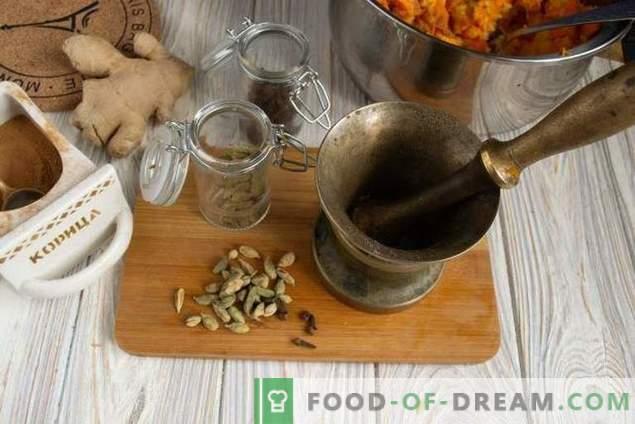 Salsa de salsa picante de calabaza de cítricos india dulce