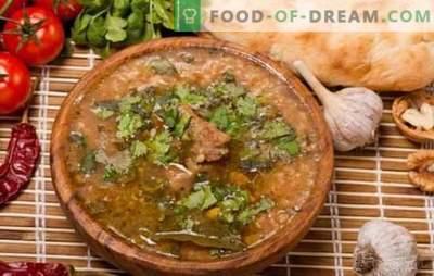 Le kharcho d'agneau épicé est une recette classique du Caucase. Comment préparer un kharcho d'agneau classique avec l'ajout de