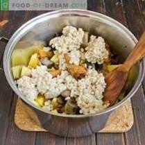 Gobova juha z fižolom in krompirjem