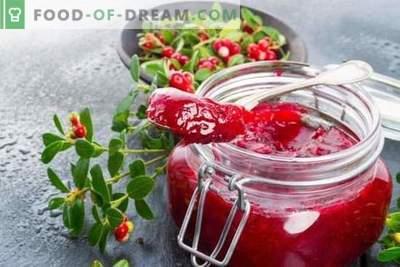 La jalea de arándanos es una nueva forma de combatir la deficiencia de vitaminas. ¡Las recetas deliciosas y saludables de jalea de arándanos son simples y fáciles!