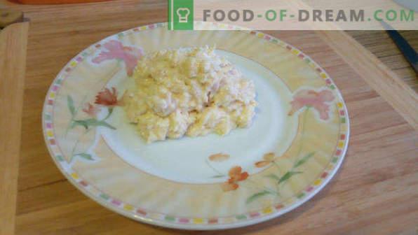 Juliana casera con pollo y champiñones, recetas en cocottes, ollas, bandejas para hornear