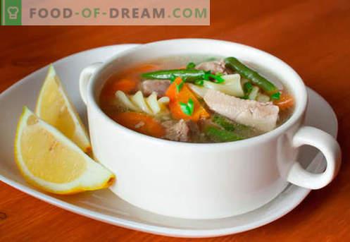 Sopa de pavo - Recetas probadas. Cómo cocinar adecuadamente y sabrosa sopa de pavo.