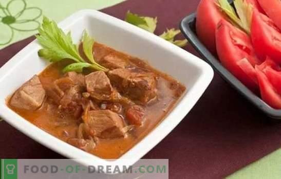Cerdo en cerveza - carne jugosa con sabor y aroma impecables. Las mejores recetas de carne de cerdo en cerveza: en escabeche, frito, al horno