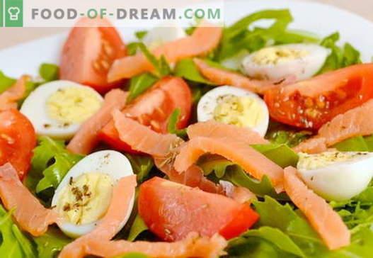 Recetas de salmón y huevo para las vacaciones y para todos los días