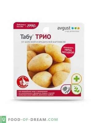 """""""Taboo TRIO"""" - Prévention en toute sécurité des maladies et des ravageurs de la pomme de terre"""