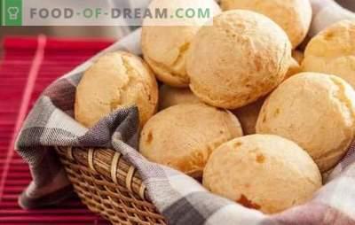 Bollos con queso: ¡el sabor volverá loco a cualquiera! Recetas de bollos caseros de queso con jamón, chorizo, ajo y nueces