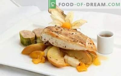 Pechuga de pollo frita: ¡lo principal es no secar en exceso la carne tierna! Una selección de recetas adecuadamente cocidas pechuga frita