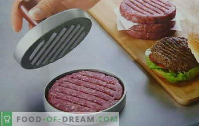 Burgerji za hamburgerje - recepti od kanadskega do havajskega. Sočni in hrustljavi hamburgerji, recepti se ne morejo šteti