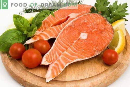 Salmón - Las mejores recetas. Cómo correctamente y sabroso salmón.