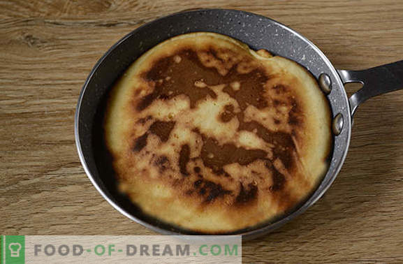Pancakes on milk: dry American version of the usual fritters! Author's step-by-step photo recipe of pancakes on milk - simple yummy