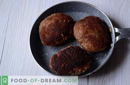 Cómo congelar empanadas de carne de res con pollo: preparaciones útiles para uso futuro. Receta fotográfica paso a paso de albóndigas y productos semiacabados: de carne picada a congelador