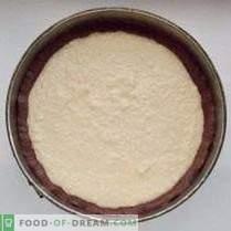 Pastel de queso y pastel de chocolate con jirafa