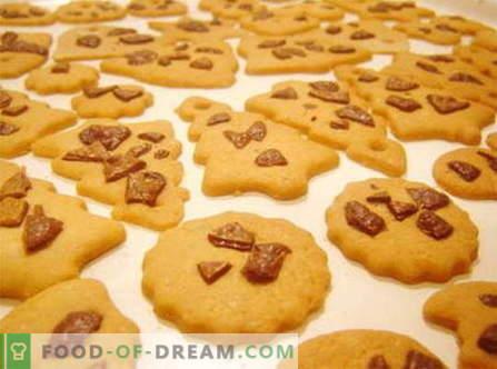 Recetas de galletas: harina de avena, limón, jengibre, almendra, nueces