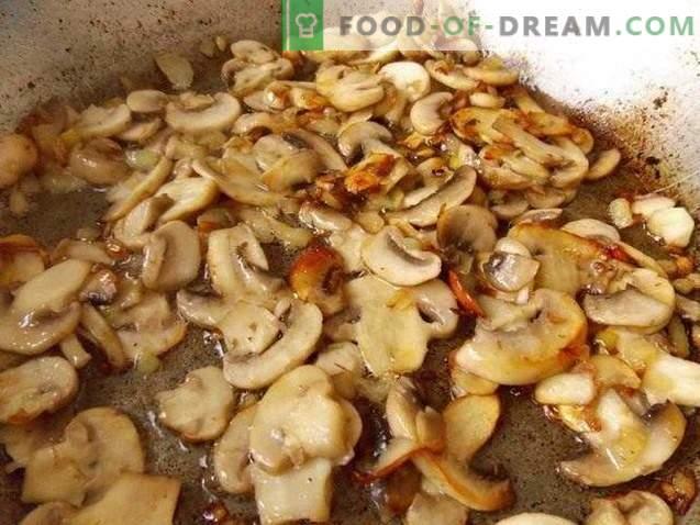 Patata zrazy con setas