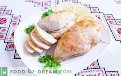 Filete de pollo al horno, frito y estofado en mayonesa. Recetas sencillas de platos de presupuesto de filete de pollo con mayonesa