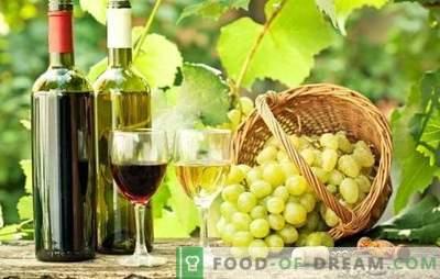 Vynas iš vynuogių namuose - naudingas! Vyno iš vynuogių gaminimo namuose paslaptys