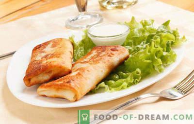 15 deliciosas recetas para rellenar de requesón para panqueques