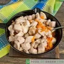 Gulash de cerdo con salsa
