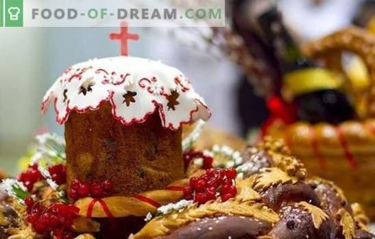 ¡El pastel de Pascua más delicioso - para alegrías brillantes! Recetas probadas al aire, fragantes, los más deliciosos pasteles de Pascua para Pascua