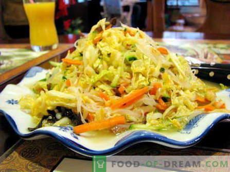 Salade de Pékin - les meilleures recettes. Comment bien cuire une salade de Pékin.